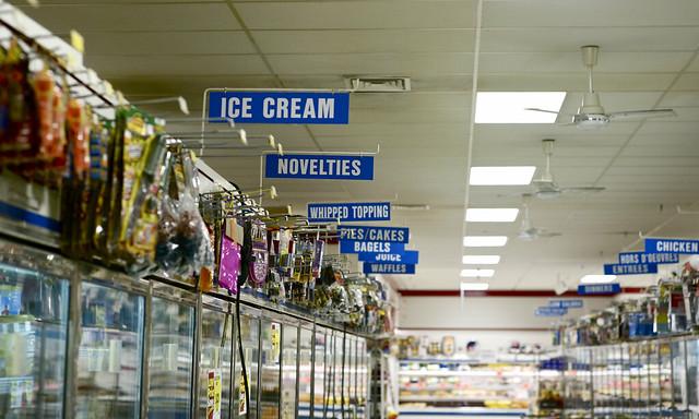 frozen market