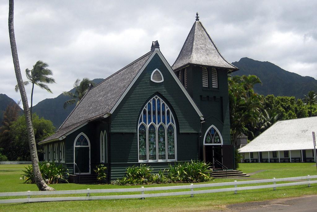 Kaua I Hanalei Wai Oli Hui Ia Church And Mission House Flickr