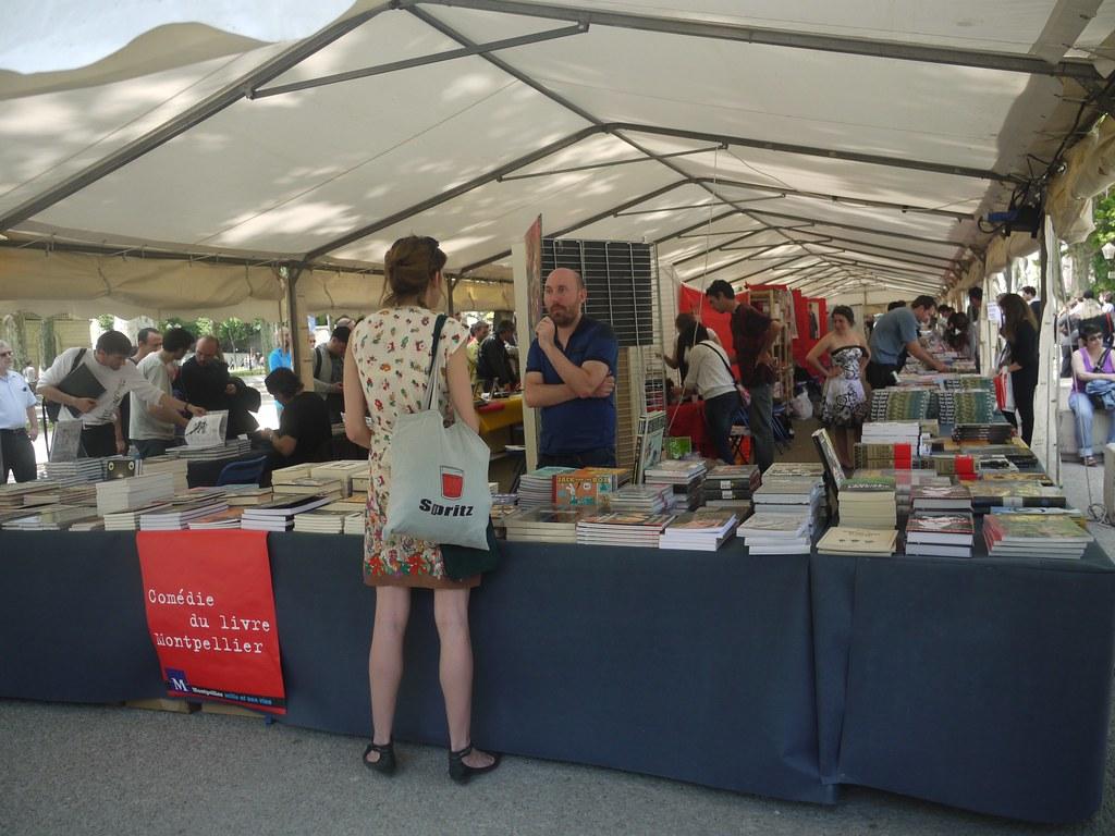 related image - Comédie du Livre 2010 - Vue d'ensemble - P1380802