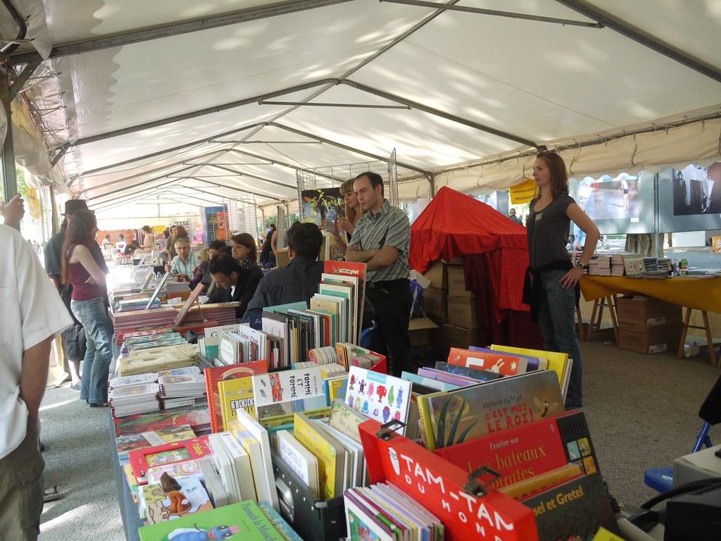 related image - Comédie du Livre 2010 - Vue d'ensemble - P1380898