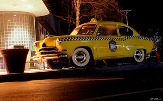 1953 Henry J - yellow taxi - fvl