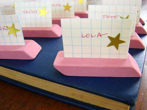 eraser place holders