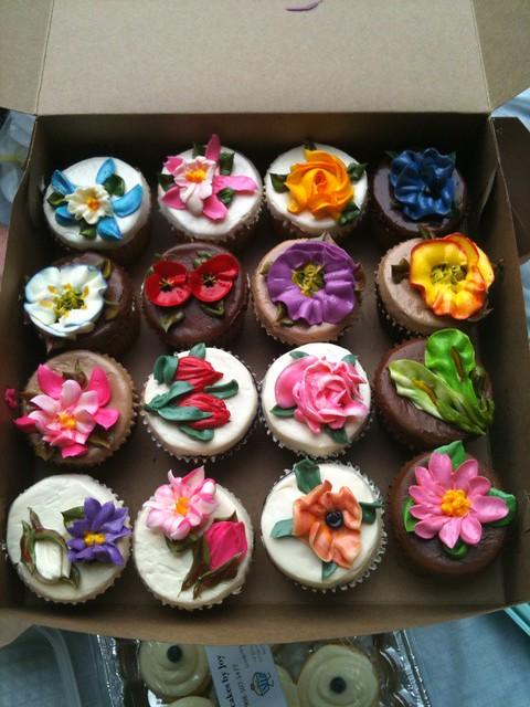 Flower Garden Cake Recipe