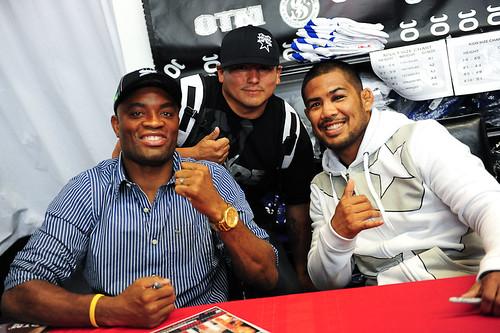 Anderson Silva Signing