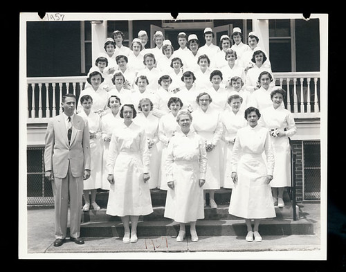 [Church Home and Hospital School of Nursing, class of 1957]