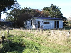 Old house, Aokautere, Palmerston North, New Zealand