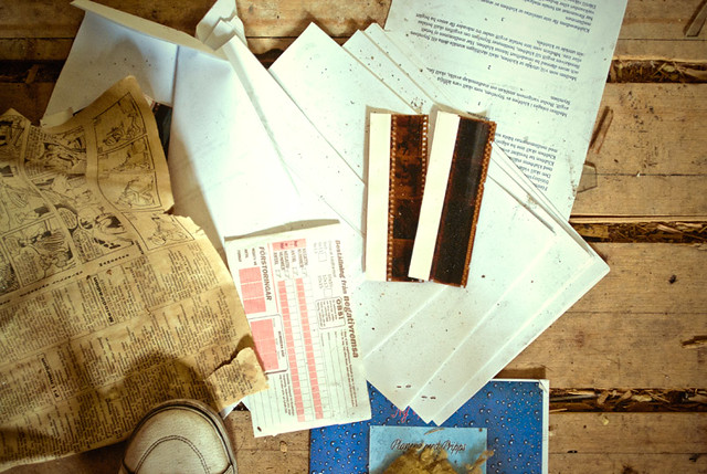 negs and papers.
