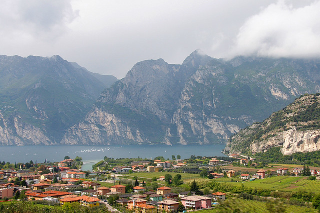 Garda lake, Lombardy, national parks