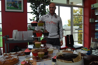 Andy Johnson at Fulham coffee morning