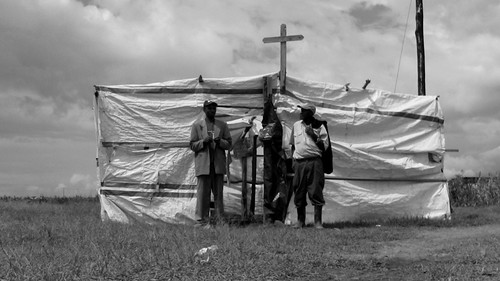 The Curch in the refugee Village (Mt. Kenya) by @heidenstrom