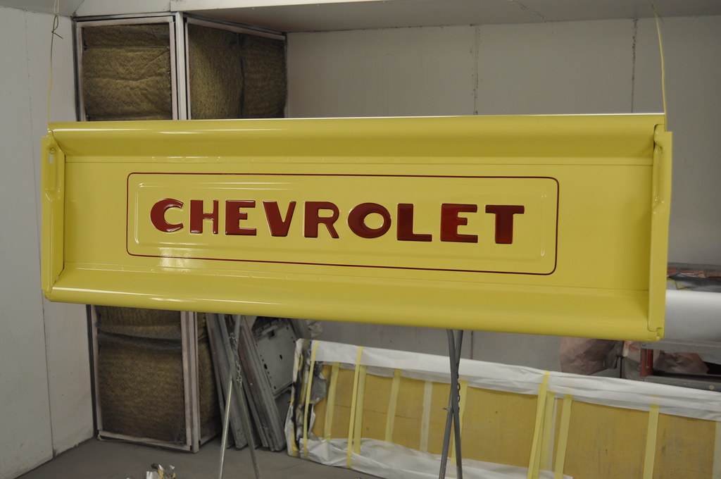 1951 Chevy 3100 Pick Up Truck Clean Cut Creations Vintage