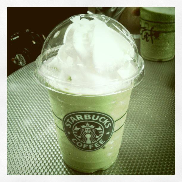 Matcha Latte @ Starbucks