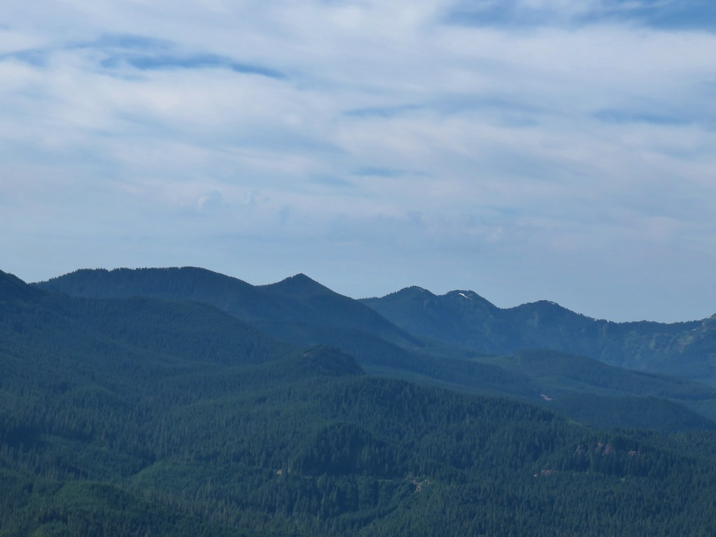 Crescent Mountain, North Peak, Echo Mountian and South Peak