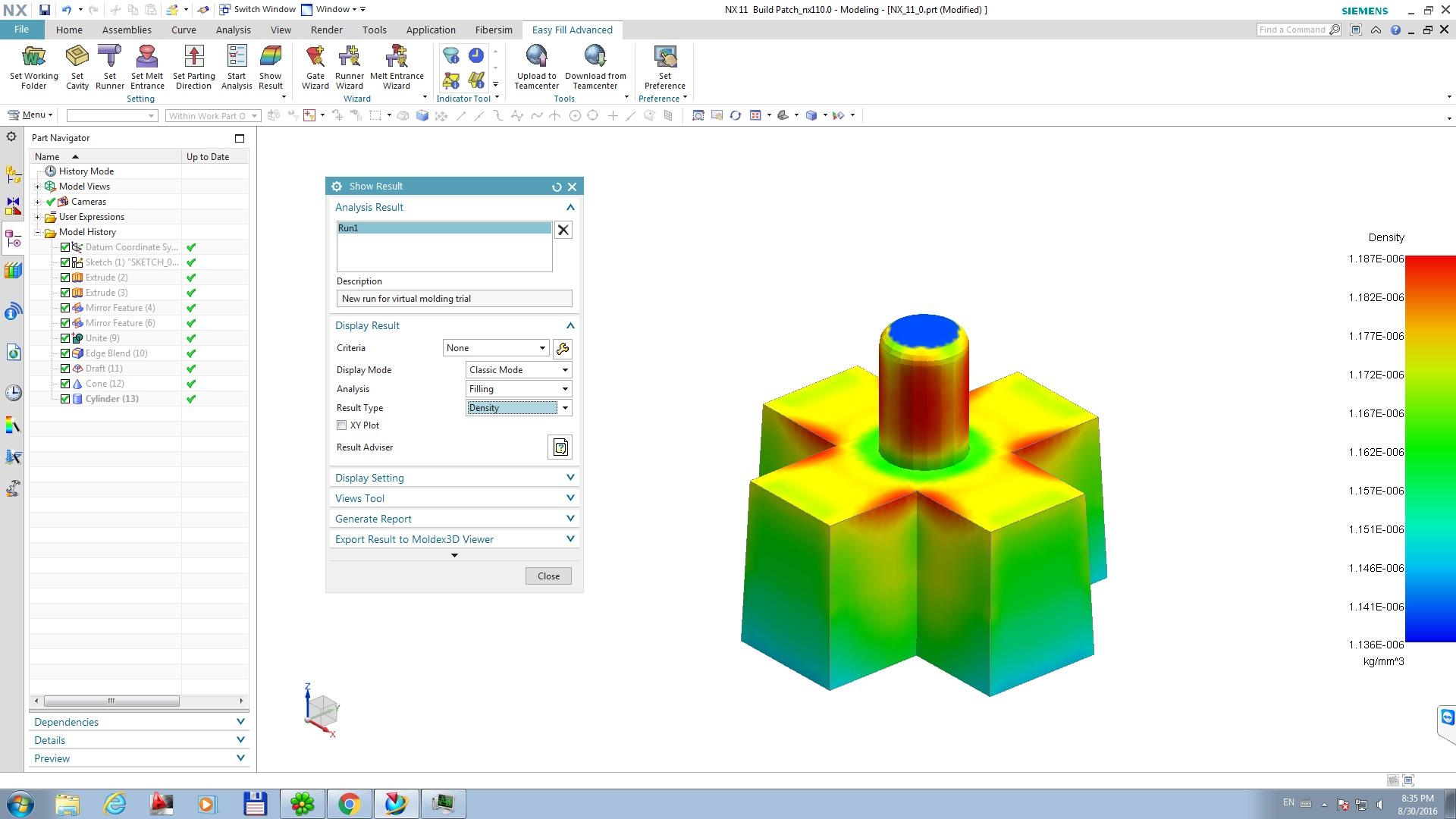 download Siemens NX 11.0 Easy Fill Advanced v1.20160727 Win64 full