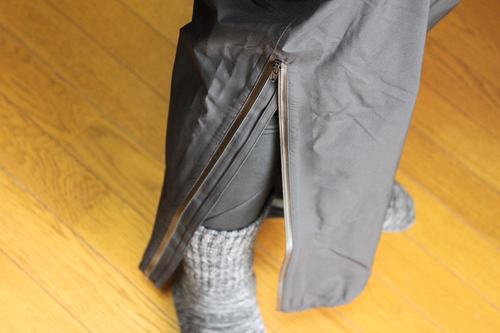 Marmot Comodo Jacket and Pant 足元