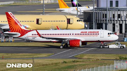 Air India A320-251N msn 7662