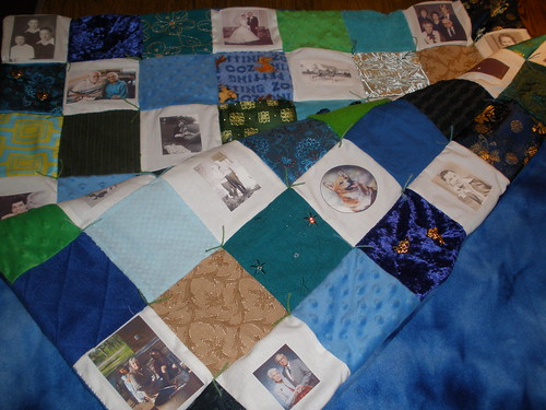 Sensory and Memory Quilt