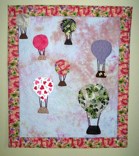 Love is in the Air - A Hot Air Balloon Quilt