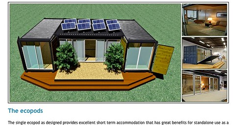 Flickriver - Ecopod container home ...
