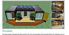 Texas container homes jesse c smith jr consultant ecopod ca - Ecopod container home ...