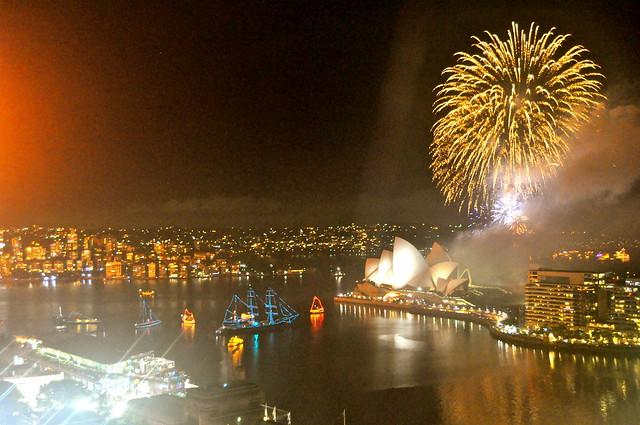NYE Fireworks, Sydney AU