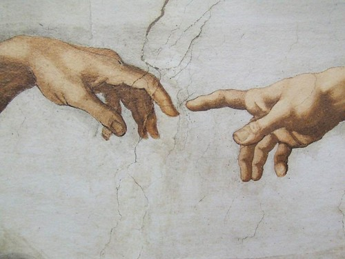 The Creation Michelangelo Vatican Italy - Creative Commons by gnuckx