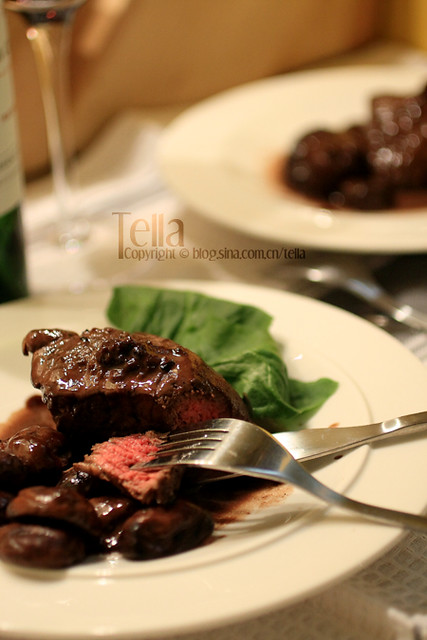 Filet mignon with red wine cream sauce | Flickr - Photo Sharing!