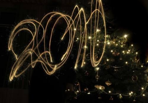 Sparkler Art 2010