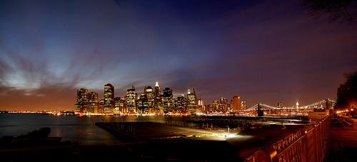 Manhattan from the Heights Promenade