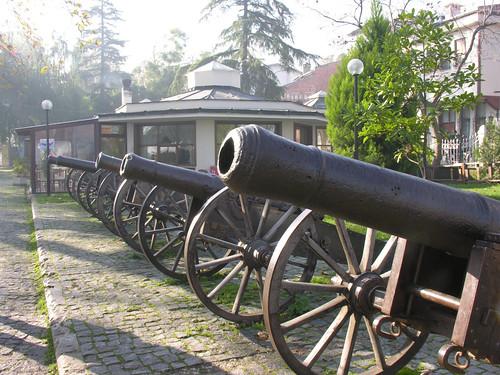 Oszmán ágyút Bursa városában