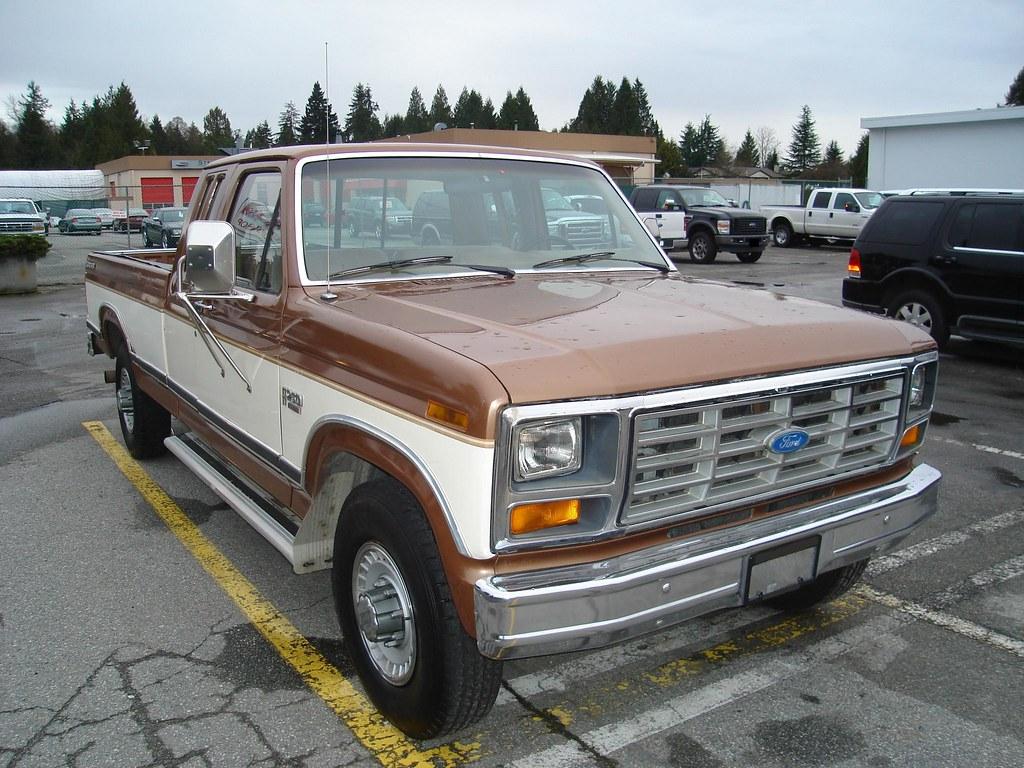 1985 ford f 250 explorer pickup truck a photo on flickriver. Black Bedroom Furniture Sets. Home Design Ideas