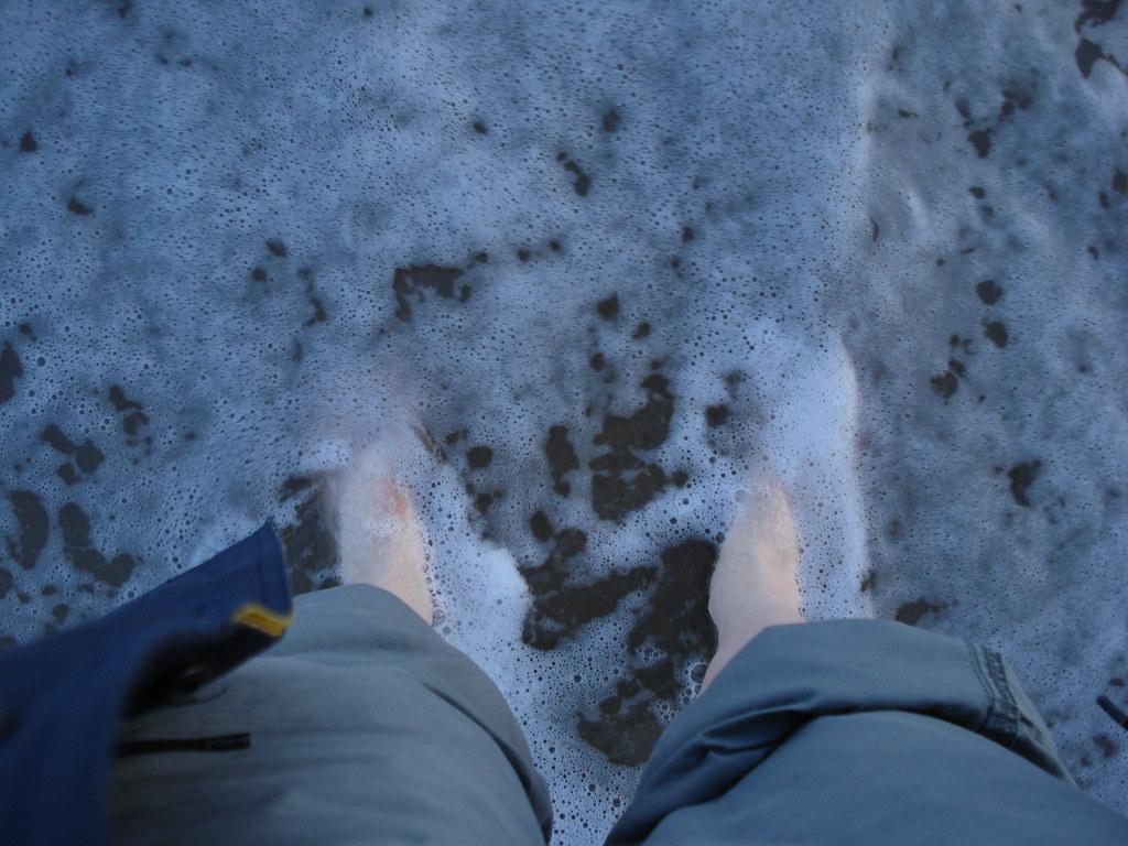 Paddling in February - The Evidence Extra walk 13: Folkestone circular