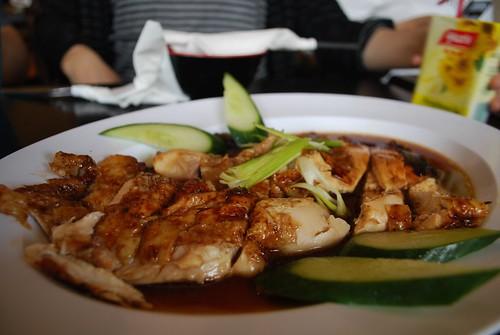 Hainanese Fried Chicken - Hawker's Cafe 2 AUD12 half chicken