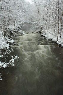 Raging Winter River