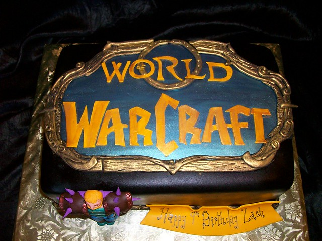 World of Warcraft Birthday Cake | Flickr - Photo Sharing!
