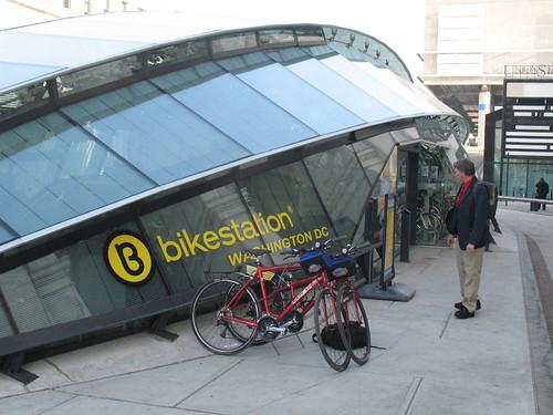 Bikestation in Washington D.C