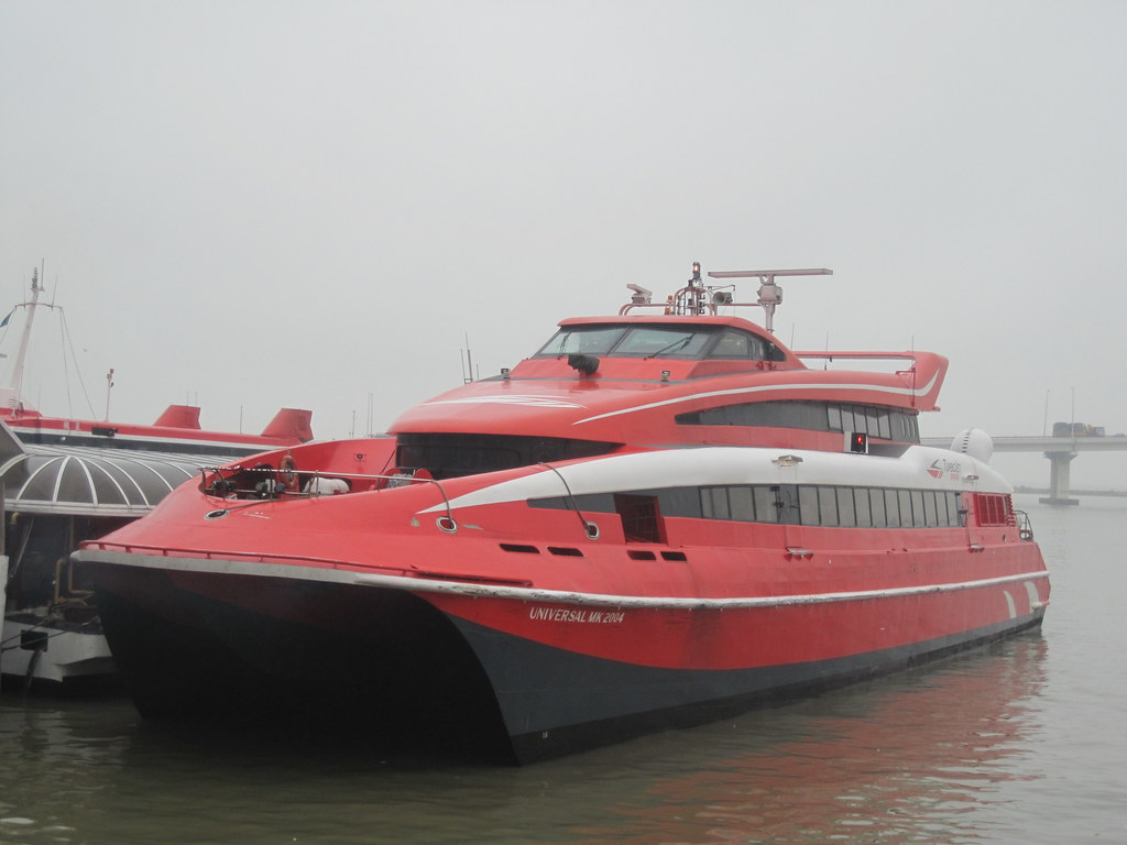 Ferry to Macau