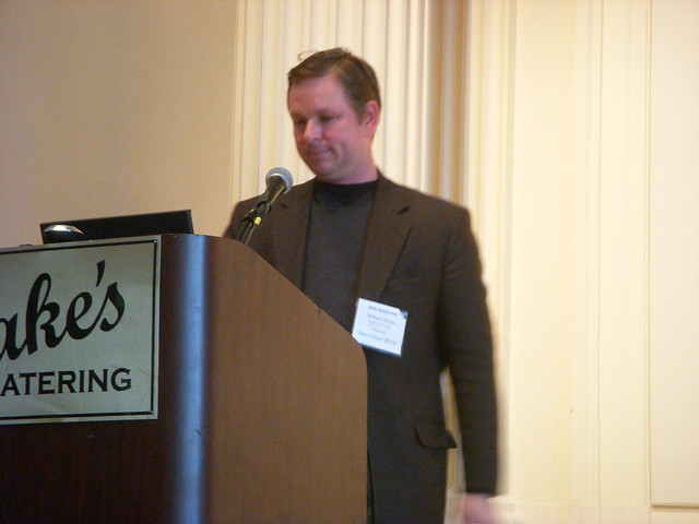 Will Scott speaks at SEMpdx SearchFest 2010