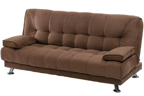 Sofas cama tipo clic clac de color marron flickr photo - Sofa cama original ...