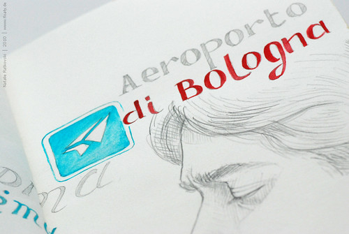Bologna travel book 18, detail