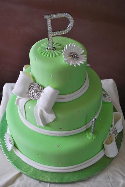 Elegant 60th Birthday Cake Flickr - Photo Sharing!