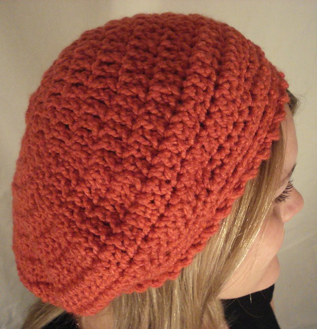Free Crochet Beanie Beret Pattern : FREE CROCHET PATTERNS FOR BERET HATS Crochet Tutorials