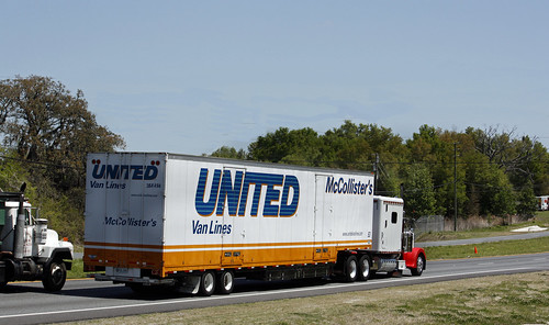 United Van Lines Peterbilt on RT. 50 in Florida