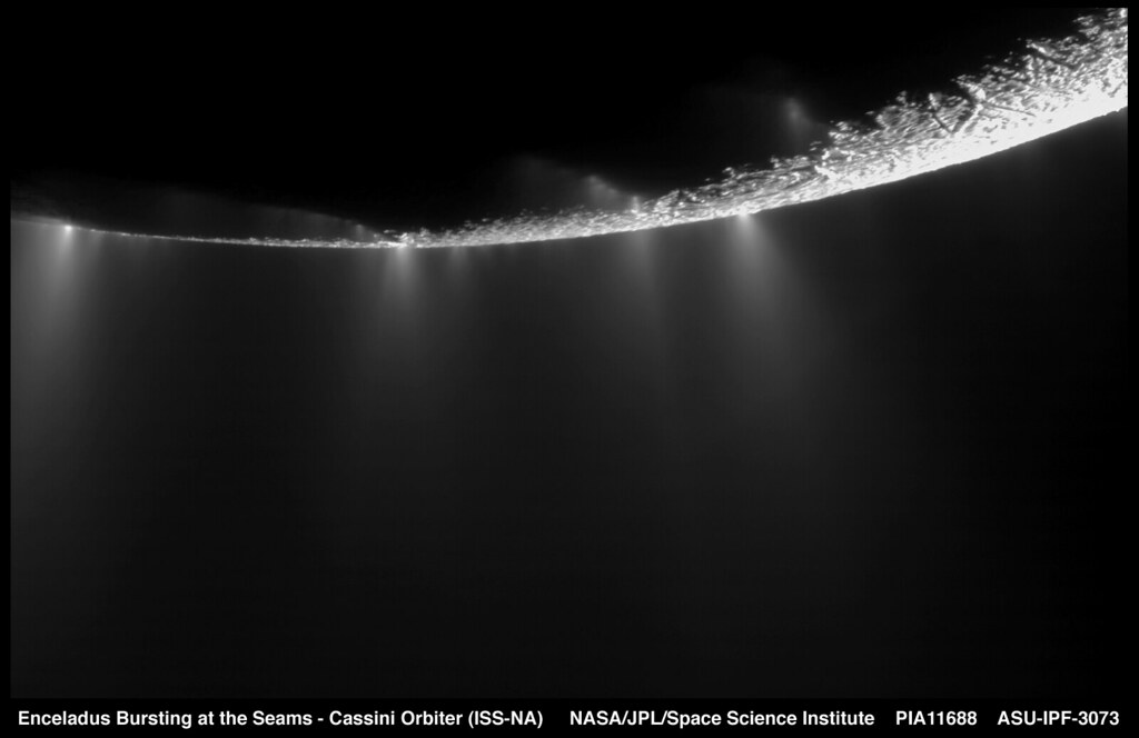 Enceladus Bursting at the Seams