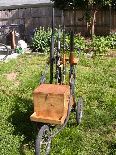 Homemade gun cart bing images for Homemade fishing cart