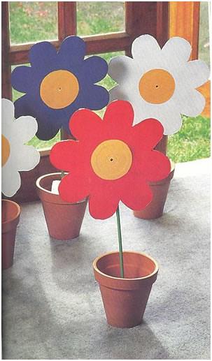 Manualidades con discos de acetato4 flickr photo sharing - Manualidades con discos ...