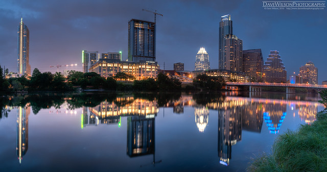 Downtown Austin Skyline at Dusk
