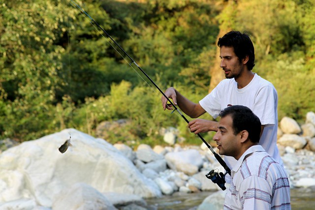 trout fishing in himachal pradesh