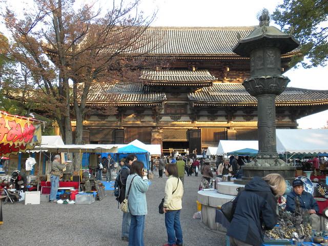 Tō-ji Flea Market, Kyoto