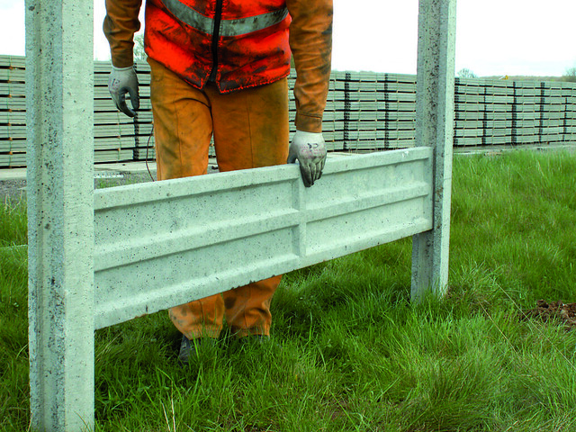 Precast Concrete Fence From Aftec | Aftec